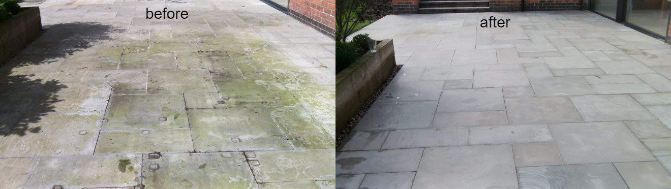 Patios Are Laid To Enhance The Look Of A Property And To Create Additional  Space. At Cleaning Time We Specialise In Pressure Washing Or Soft Washing  And ...